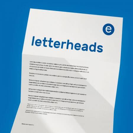 letterhead printing Huddersfield