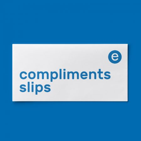 compliment slip printing Huddersfield